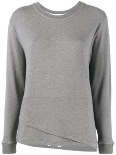 свитер с двухслойным подолом Lot78