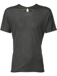 contrast seam T-shirt  Label Under Construction