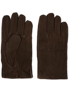 перчатки с видными швами Orciani