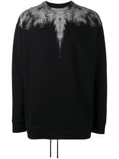 abstract print sweatshirt Marcelo Burlon County Of Milan