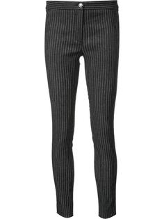 pinstripe skinny trousers Veronica Beard