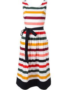 striped day dress Carolina Herrera