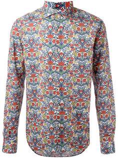floral print shirt Xacus
