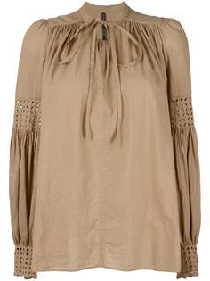 блузка со складками Plein Sud