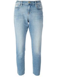 укороченные джинсы кроя скинни Frame Denim