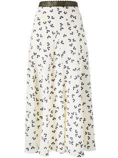 юбка с цветочным принтом Moraya Roksanda