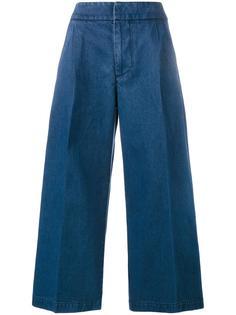 укороченные широкие джинсы Marni