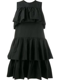 мини-платье с оборками MSGM