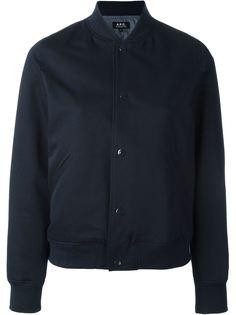университетская куртка-бомбер  A.P.C.