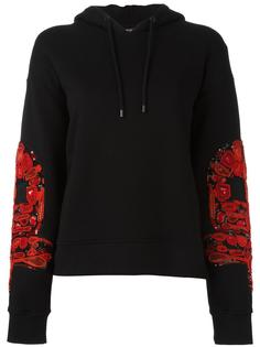 patched sleeves hoodie Marcelo Burlon County Of Milan