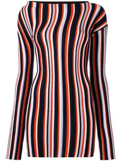 striped knitted mini dress Jacquemus