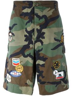 camouflage cargo shorts  Htc Hollywood Trading Company