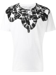 snake print T-shirt Marcelo Burlon County Of Milan