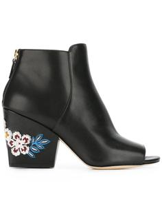 embroidered flower boots  Tory Burch