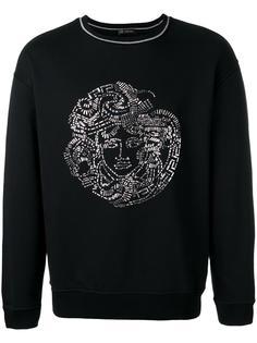 sequin Medusa Head sweatshirt Versace