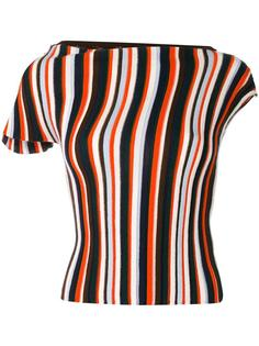 striped knitted top Jacquemus