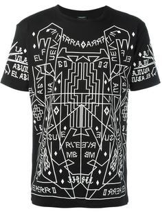 geometric print T-shirt Marcelo Burlon County Of Milan