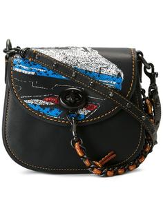 sequined detail crossbody bag Coach