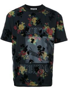 floral print T-shirt McQ Alexander McQueen