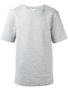 short-sleeve sweatshirt  Helmut Lang
