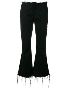 cropped flared jeans Marquesalmeida