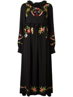 long embroidered dress  Vivetta