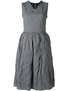 flared gingham dress  Hache