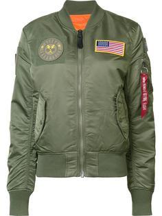 куртка-бомбер MA-1 Flex  Alpha Industries