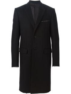 пальто с необработанными краями   Givenchy