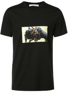 футболка с принтом Rottweiler Givenchy