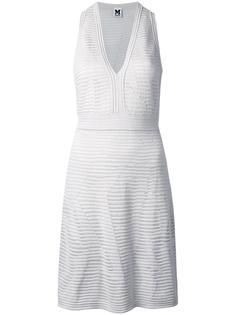 V-neck fitted dress M Missoni