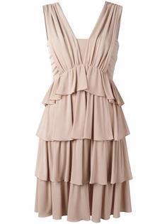 платье с оборками Nº21