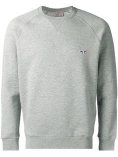 chest patch sweatshirt Maison Kitsuné
