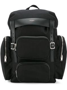 рюкзак с карманами на молнии Saint Laurent