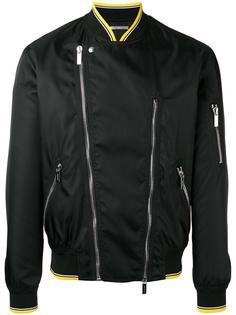zipped biker jacket  Dior Homme