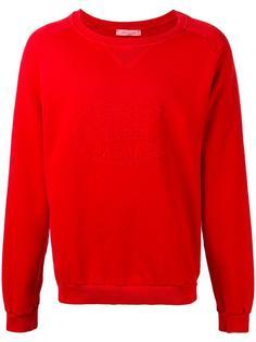 embossed logo sweatshirt Pierre Balmain