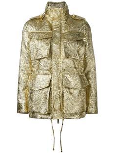 фактурная куртка в стиле милитари Dsquared2