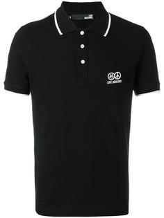 футболка-поло Love Moschino