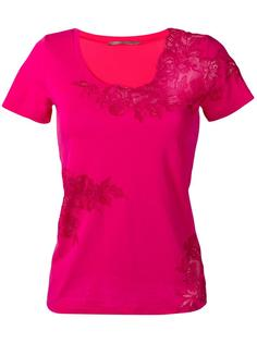 lace inserts T-shirt  Ermanno Scervino