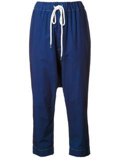брюки с заниженной проймой Bassike