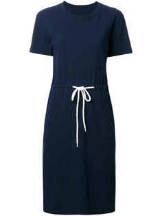 платье-футболка с эластичным поясом Bassike
