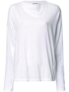 футболка с вырезом-лодочкой  Bassike