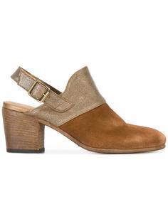 ботинки с ремешком на пятке Pantanetti