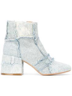 patchwork denim boots Mm6 Maison Margiela