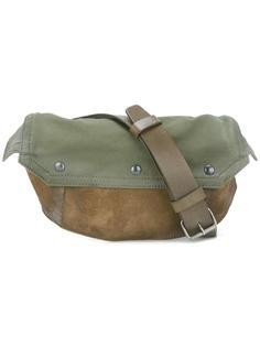 двухцветная сумка через плечо Maison Margiela