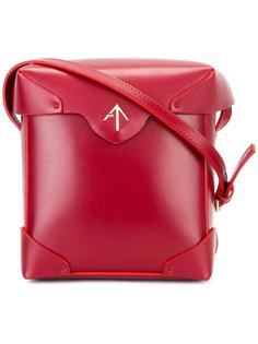 fold-over closure crossbody bag Manu Atelier