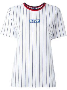 полосатая футболка Steve J & Yoni P