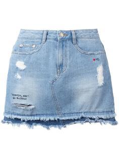 джинсовая мини-юбка Steve J & Yoni P