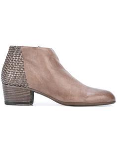 ботинки с плетеным задником Pantanetti