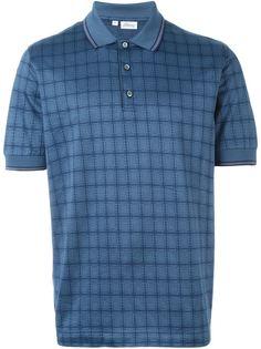 рубашка-поло в клетку Brioni